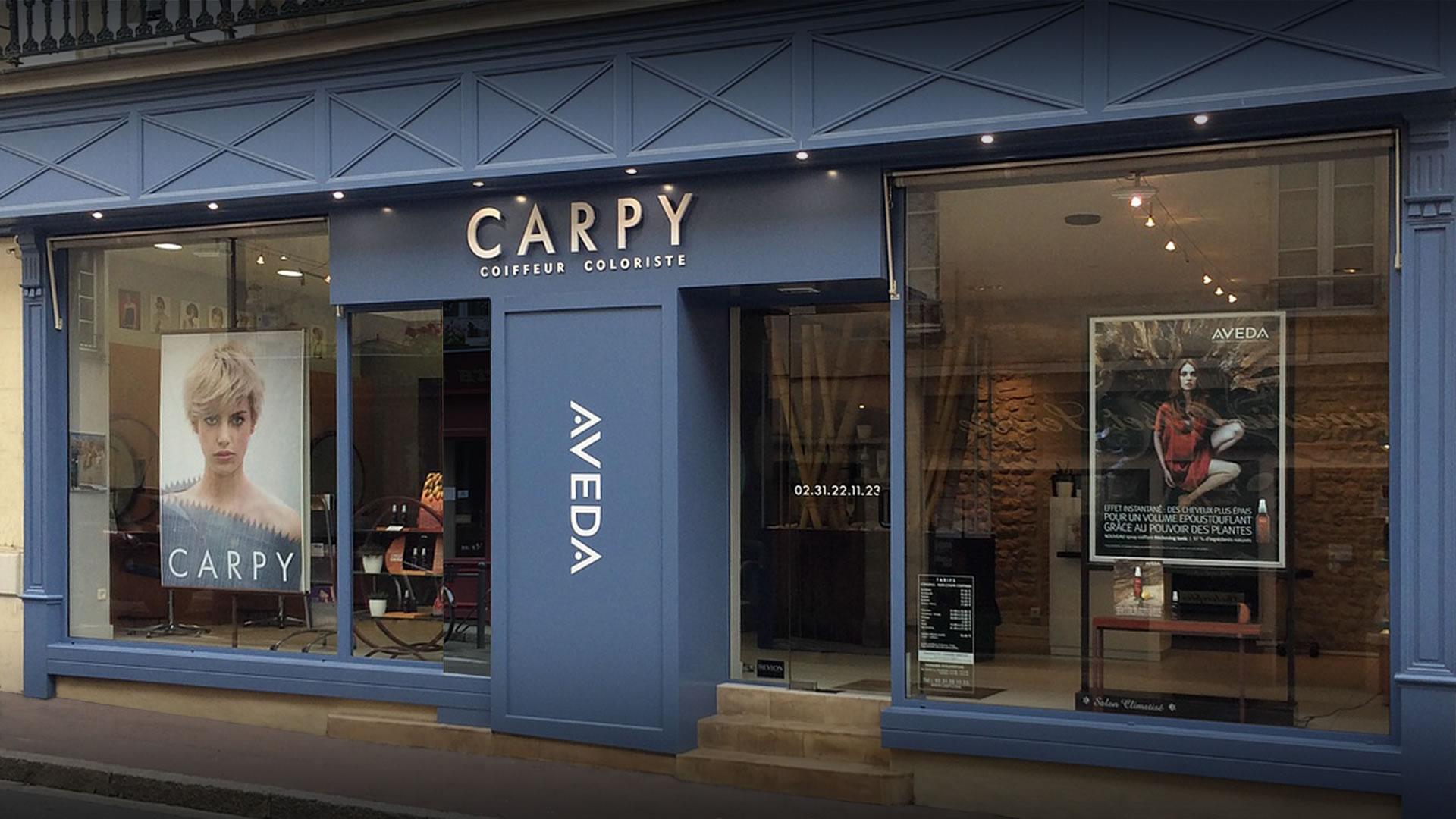 Salon Carpy coiffeur coloriste barbier - Bayeux centre historique