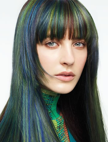 Coloration Aveda coiffeur Bayeux