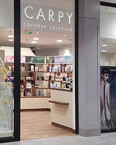 Salon de coiffure Carpy Bayeux centre Leclerc